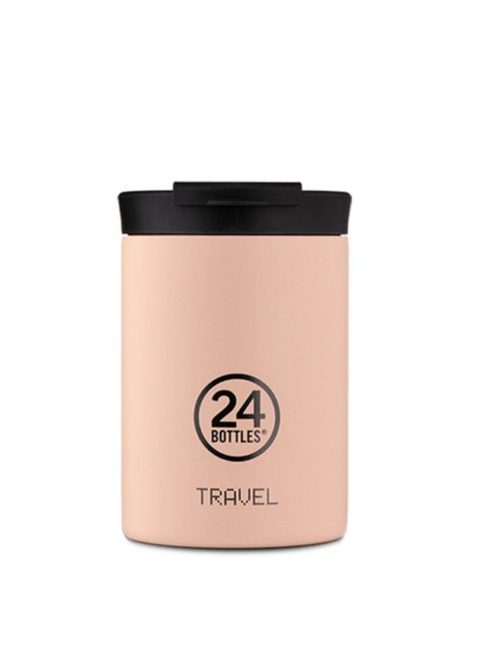 24Bottles 24Bottles Travel Tumbler Dusty Pink 350ml