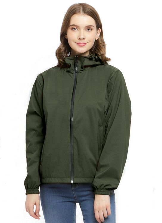 Pebble Reversible All Day Jacket - Olive