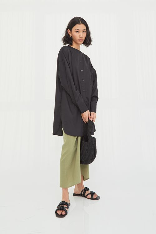 Shopatvelvet Gia Shirt Black