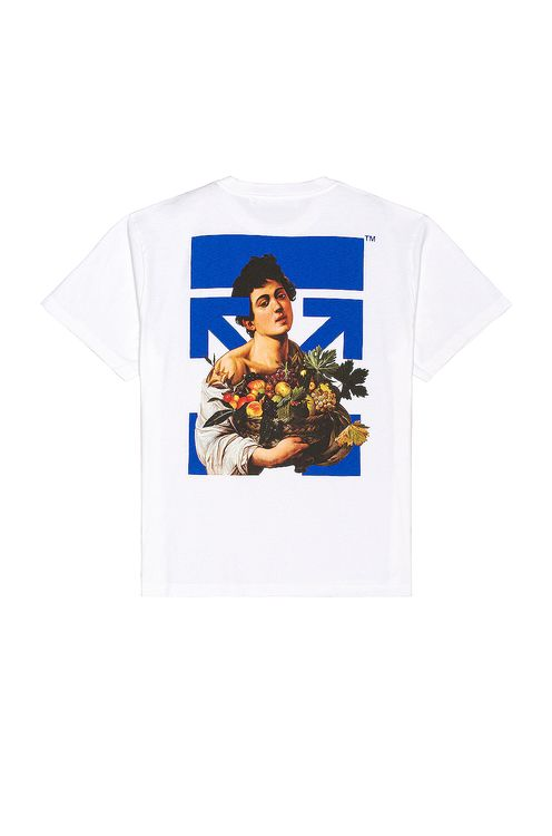 Off-White Caravaggio Boy Marker Over Tee