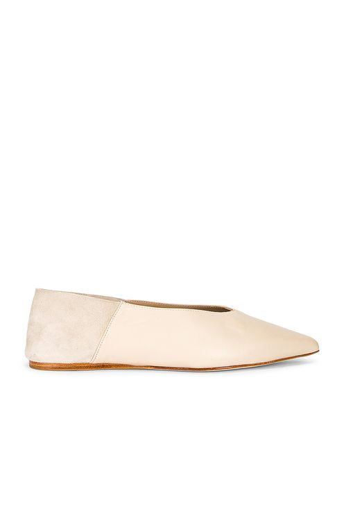 Studio Amelia Pointed Babouche Slipper Flat