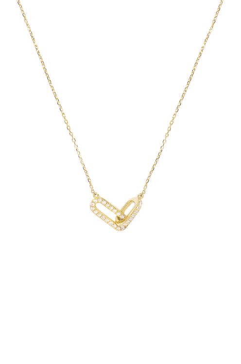 STONE AND STRAND Diamond Linked Up Necklace