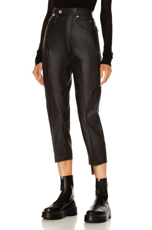 DRKSHDW by RICK OWENS Bolans Cropped Pant