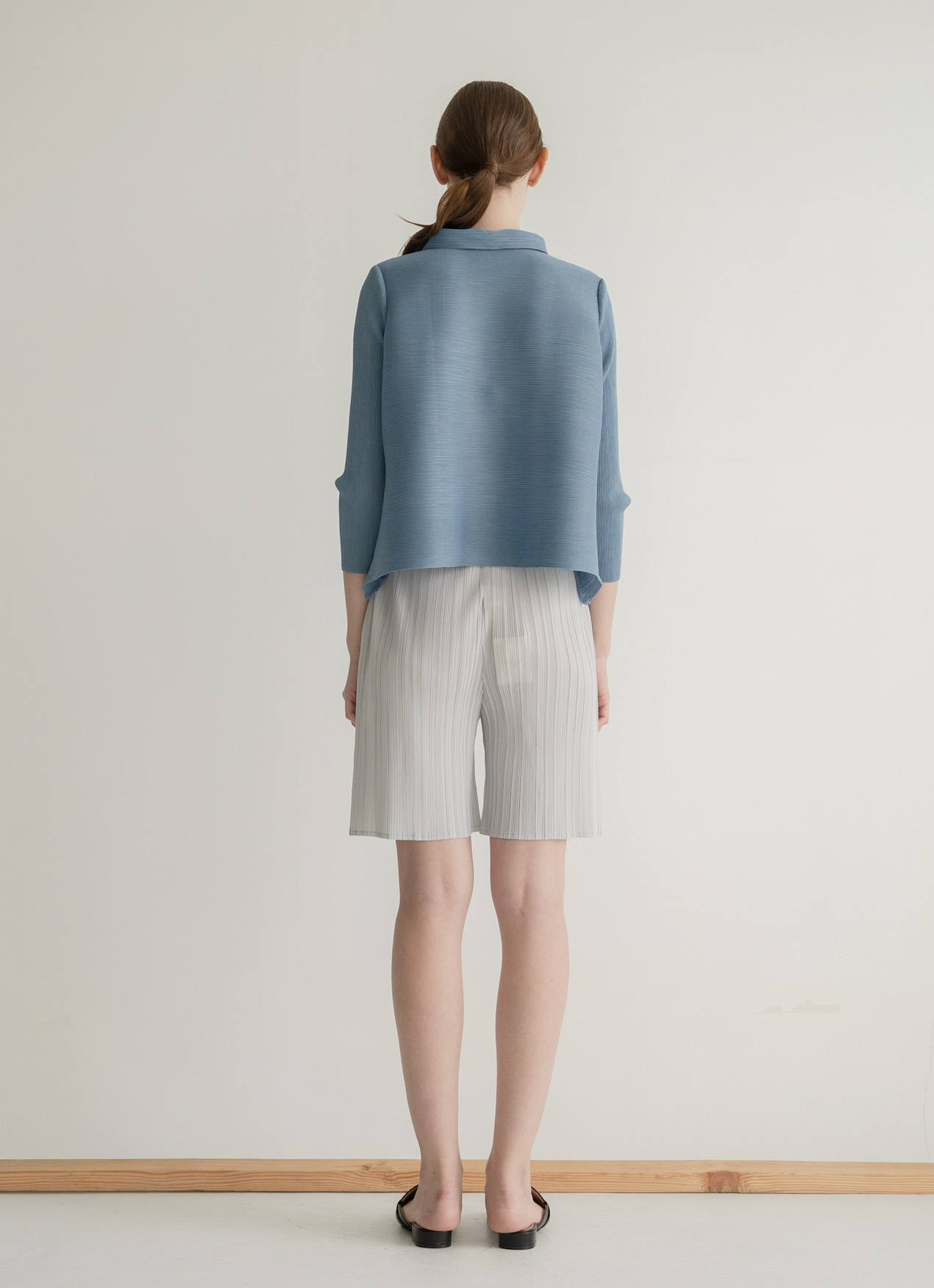 Orgeo Official Gani Top - Baby Blue