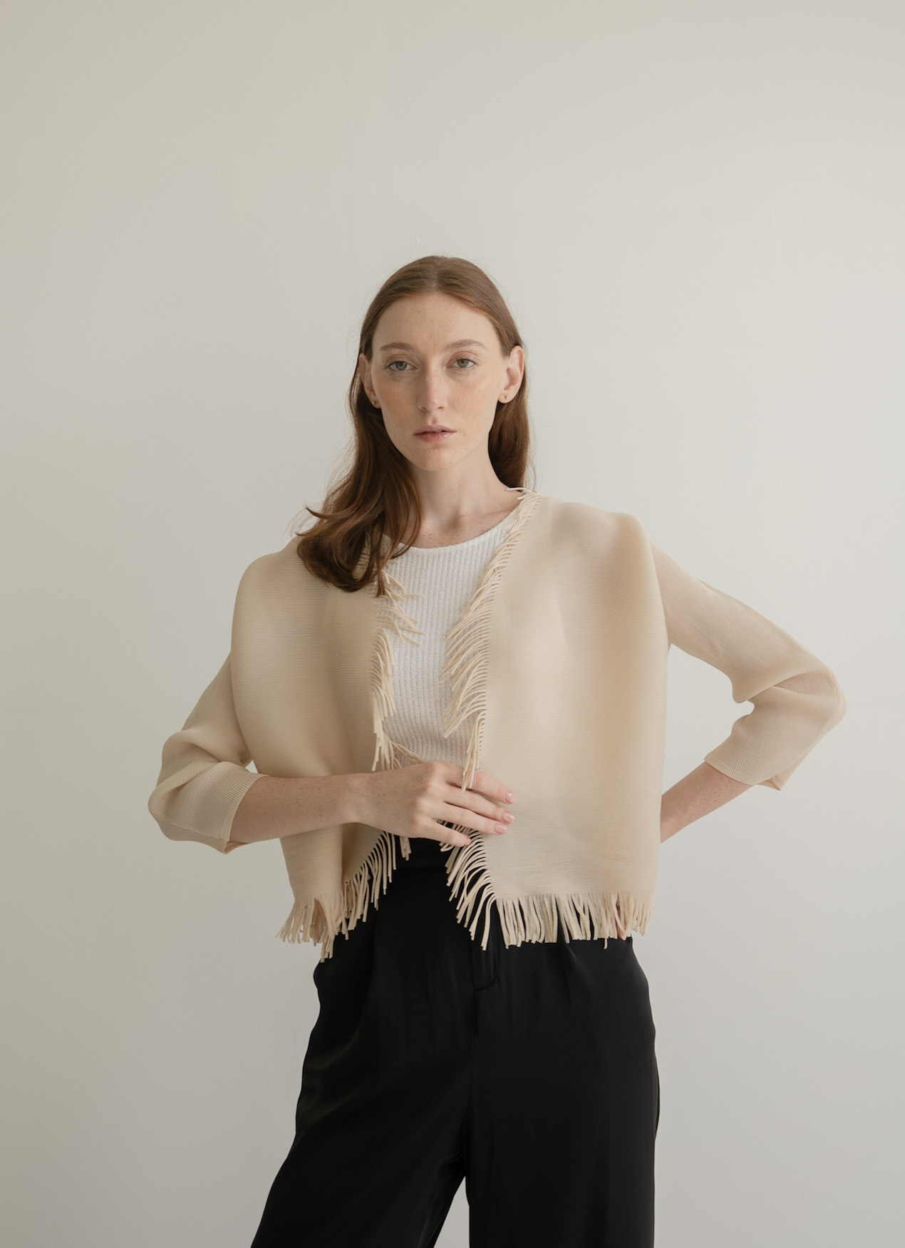 Orgeo Official Solla Outer - Beige