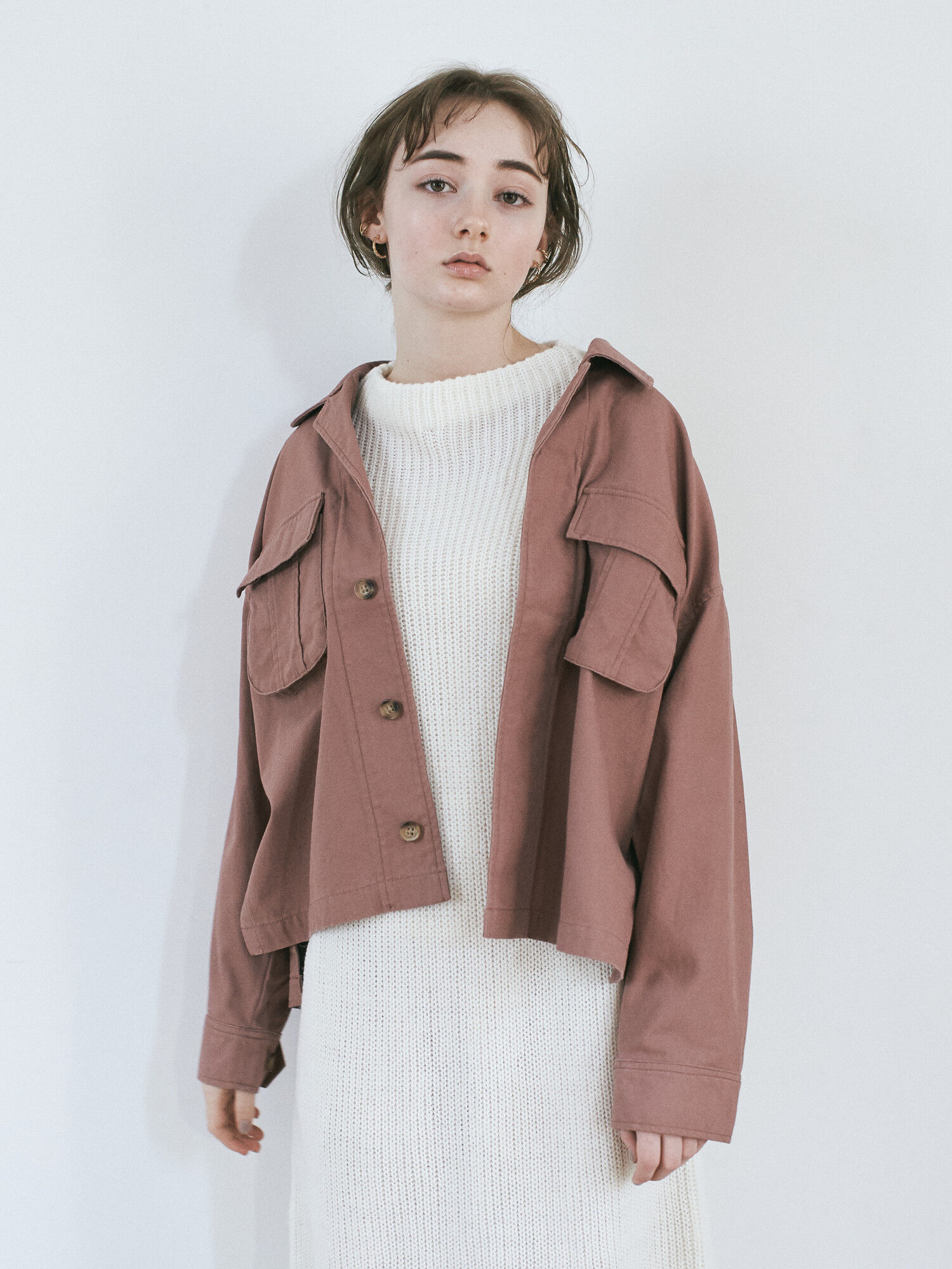 Earth, Music & Ecology Tanis Jacket - Pink