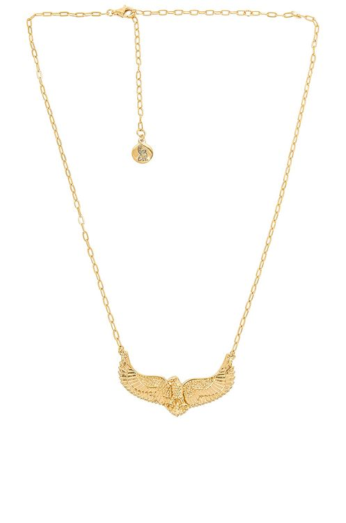 Temple of the Sun Eagle Necklace