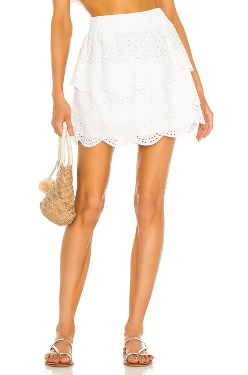 BB Dakota by Steve Madden Lost In Eyelet Skirt