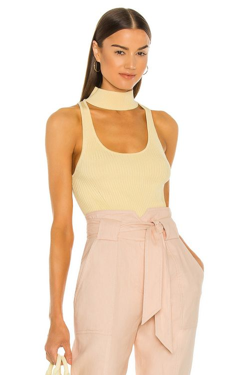 Jonathan Simkhai Margot Compact Cut Out Tank