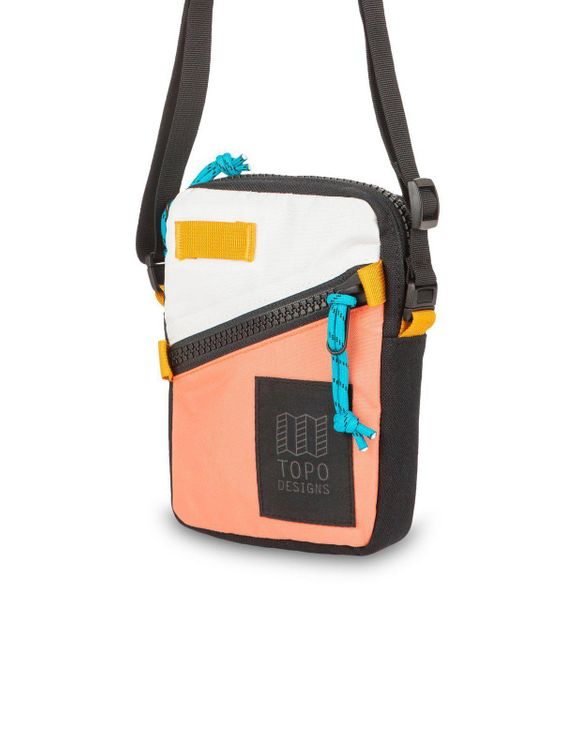 TOPO DESIGNS Topo Designs Mini Shoulder Bag Hot Coral Natural