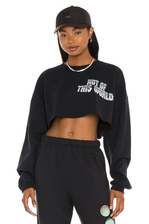 Boys Lie Not of This World Cropped Sweatshirt
