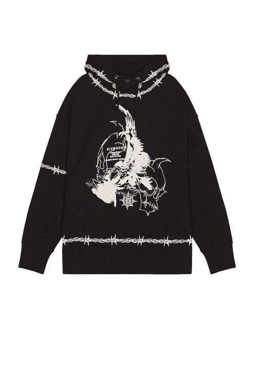 Givenchy Barbed Eagle Hoodie