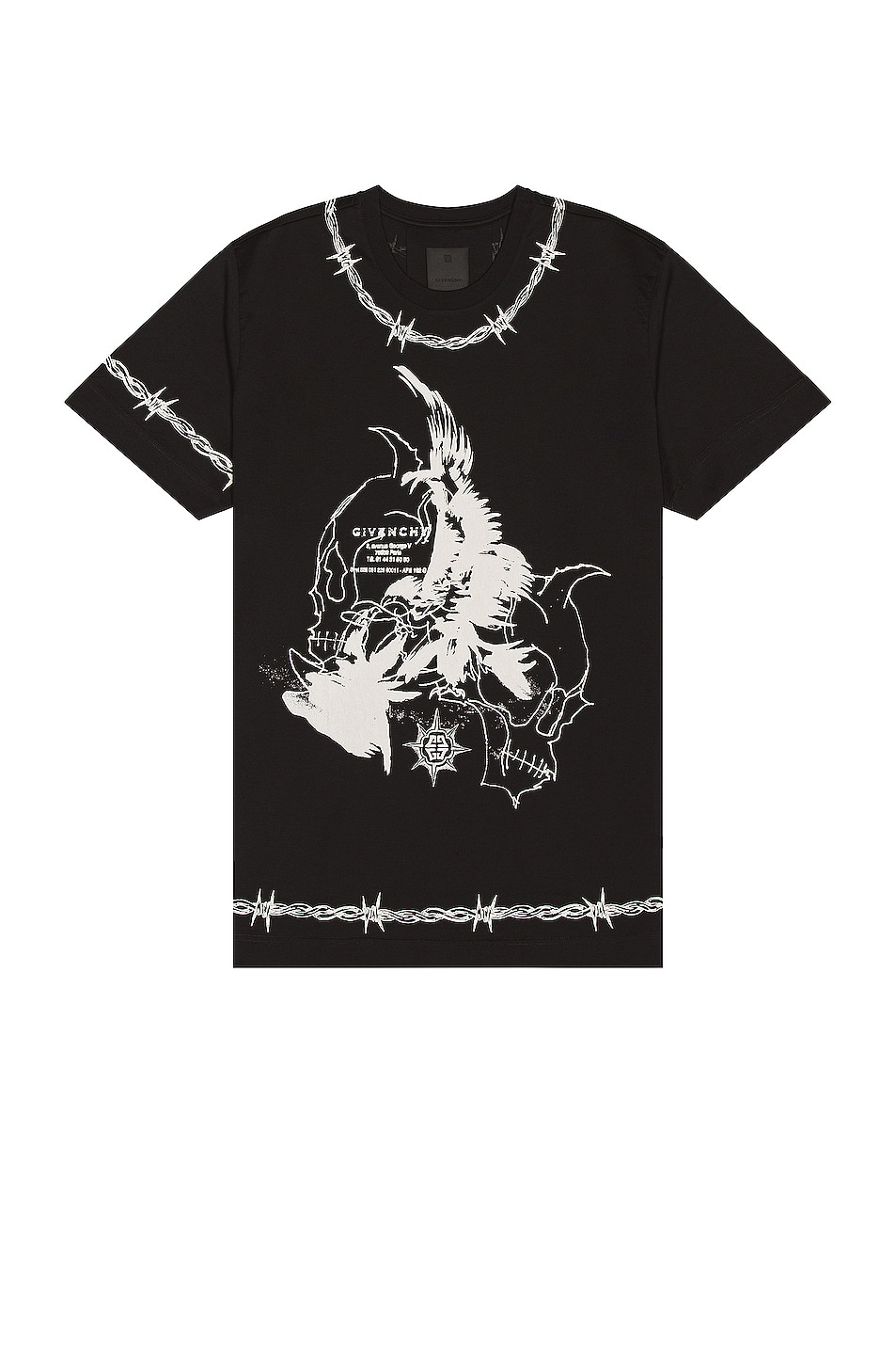 Givenchy Reaper Oversize Fit Tee
