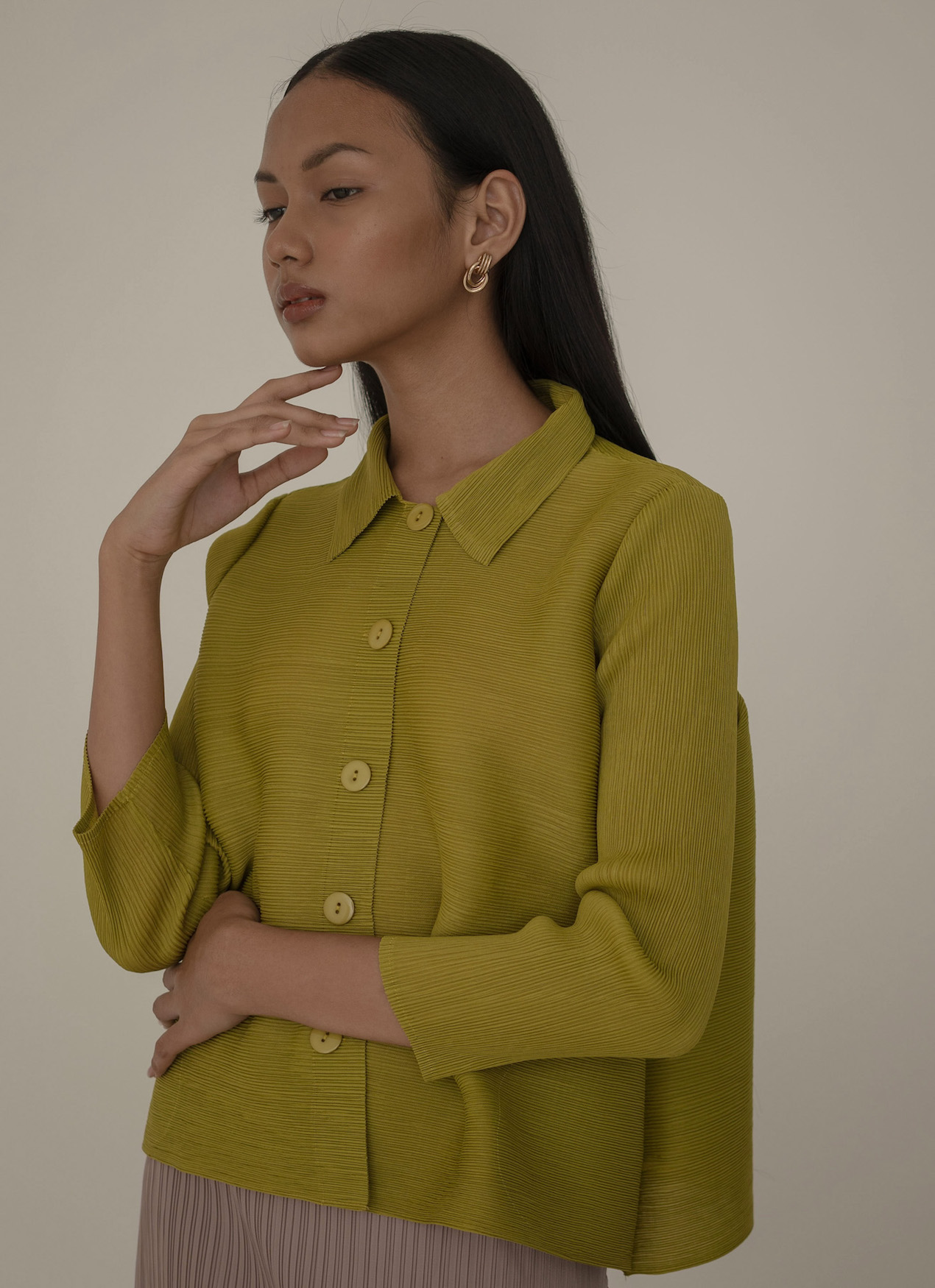 Orgeo Official Gani Top - Lime