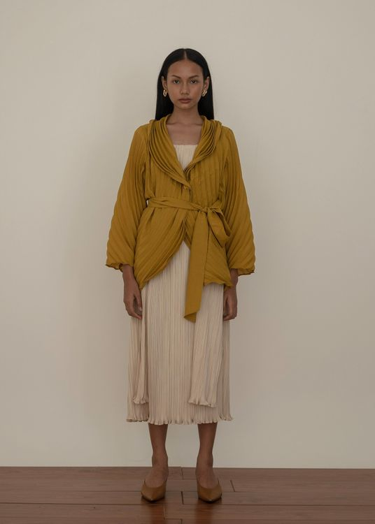 Orgeo Official Aune Outer - Mustard