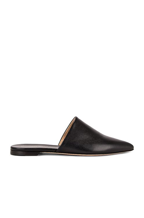 Gianvito Rossi Leather Pointed Slides