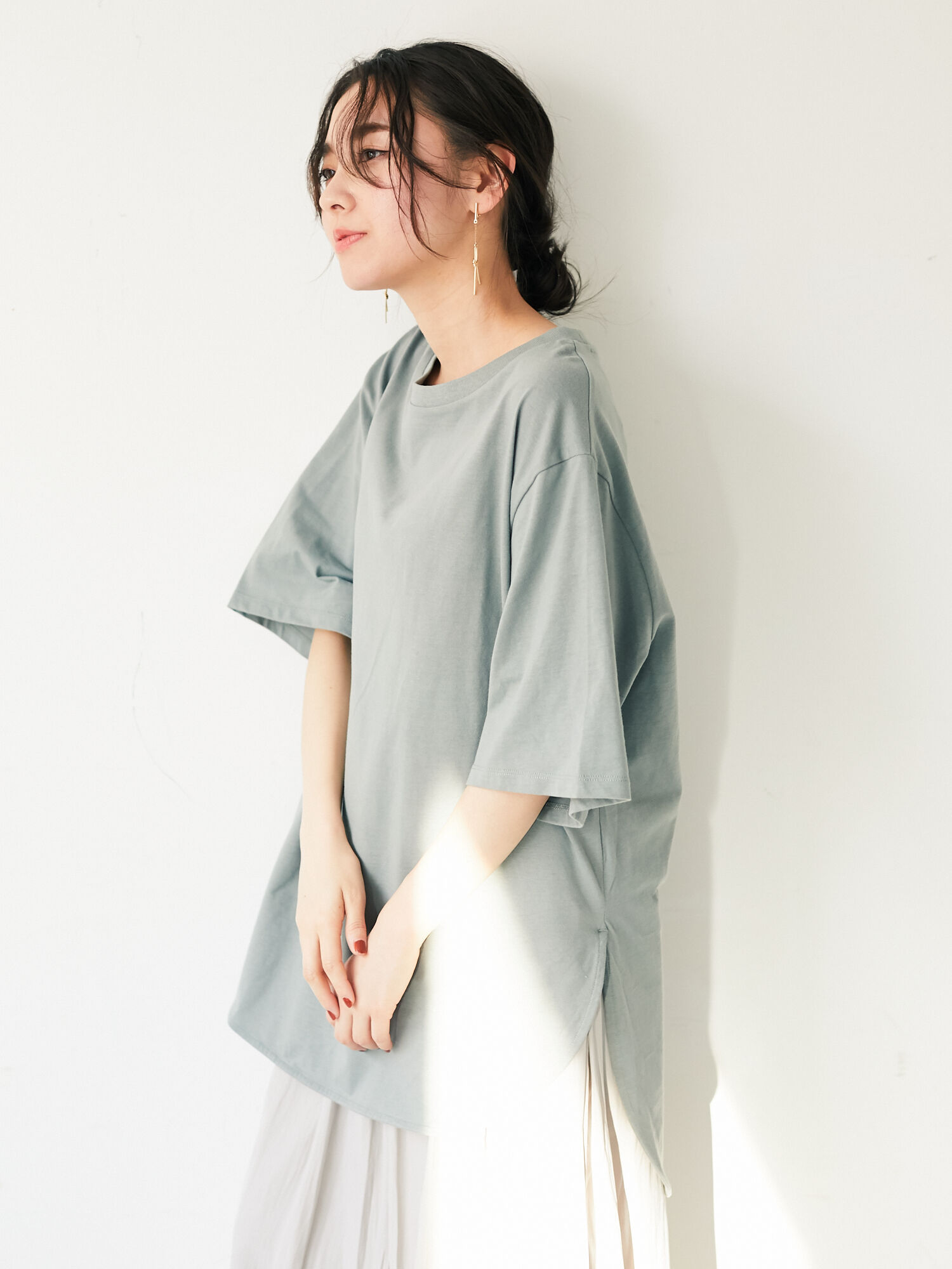 Green Parks Madison Top - Mint
