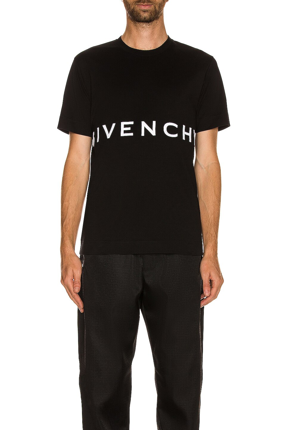 Givenchy Logo Slim Fit Tee
