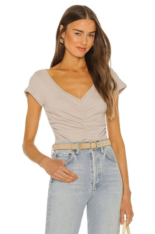 Citizens of Humanity Lucia Shirred Bodysuit