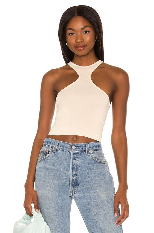 h:ours Kyla Cropped Top
