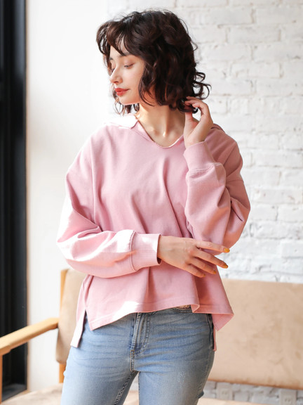E-hyphen World Gallery Amelia Top - Pink