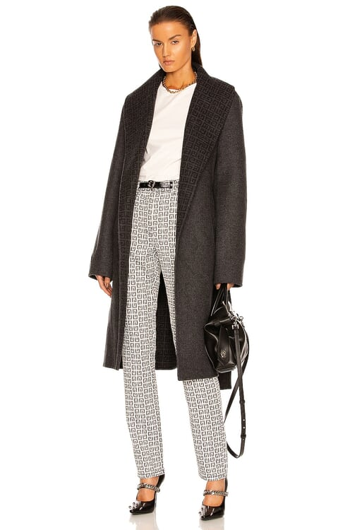 Givenchy Double Faced Coat