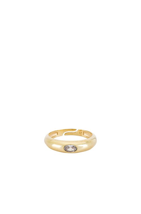 The M Jewelers NY Colored Arc Ring
