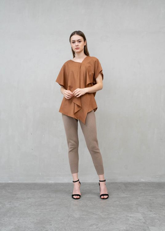 Clemence Valeno Top - Brown