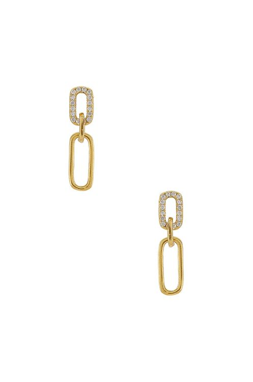 Shashi Justice Pave Earrings