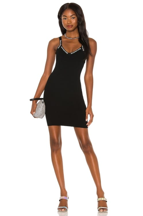T by Alexander Wang Ribbed Bodycon Cami Dress