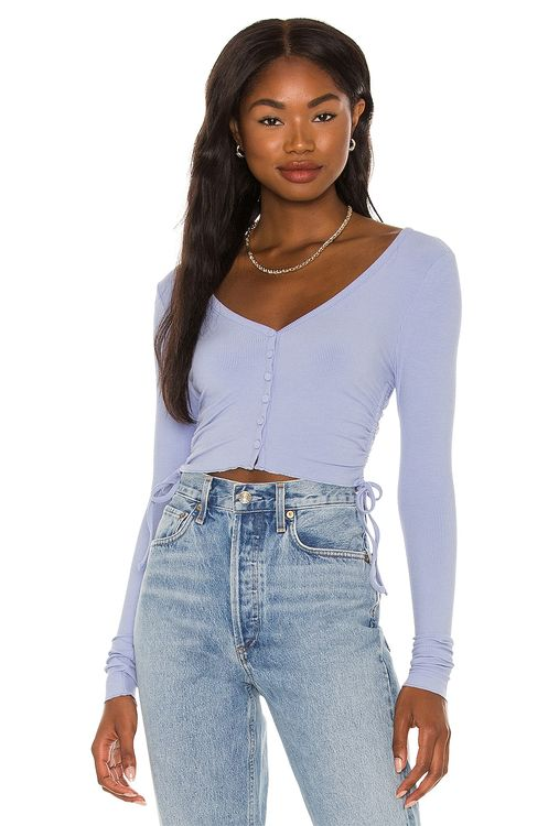 super down Rylee Ruched Top