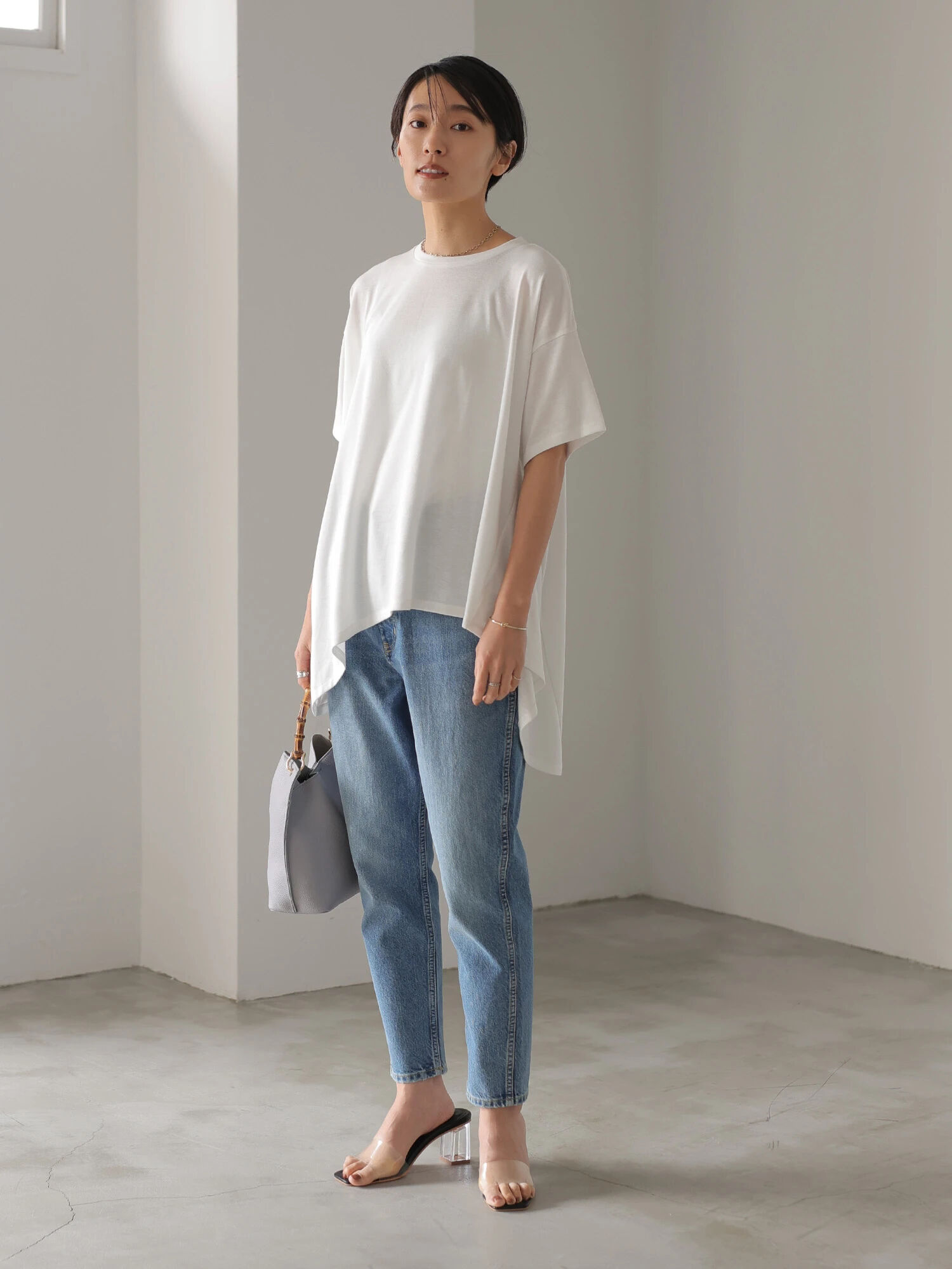 American Holic Machi Loose Short Sleeves Blouse - Off White