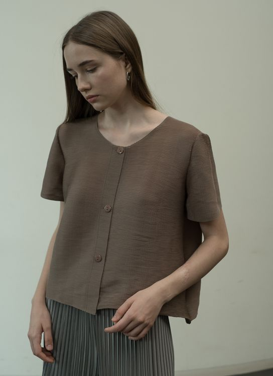 Orgeo Official Marey Top - Taupe