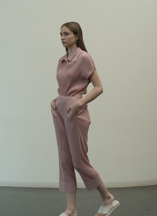 Orgeo Official Otley Pants - Dust Pink