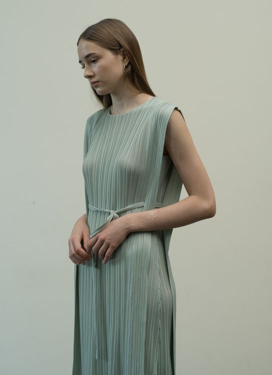 Orgeo Official Malone Dress - Pistachio