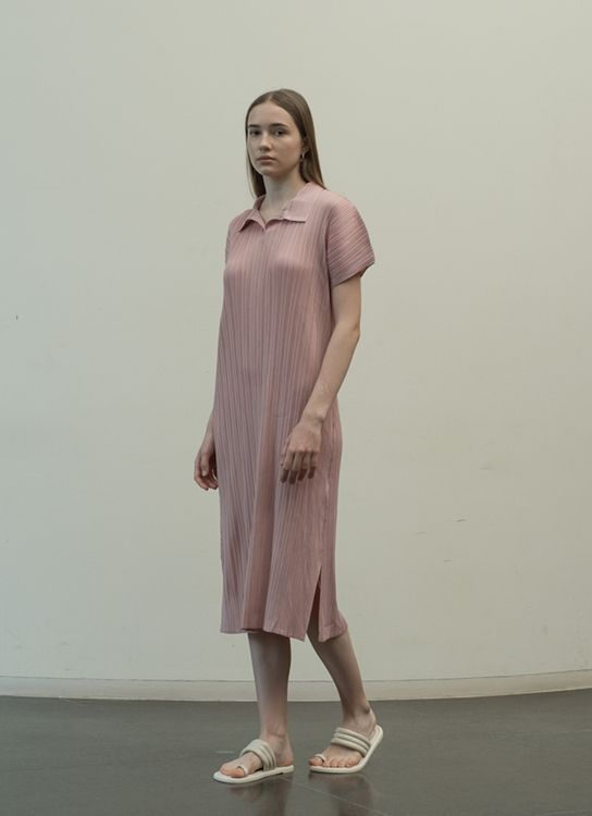 Orgeo Official Faye Dress - Dust Pink