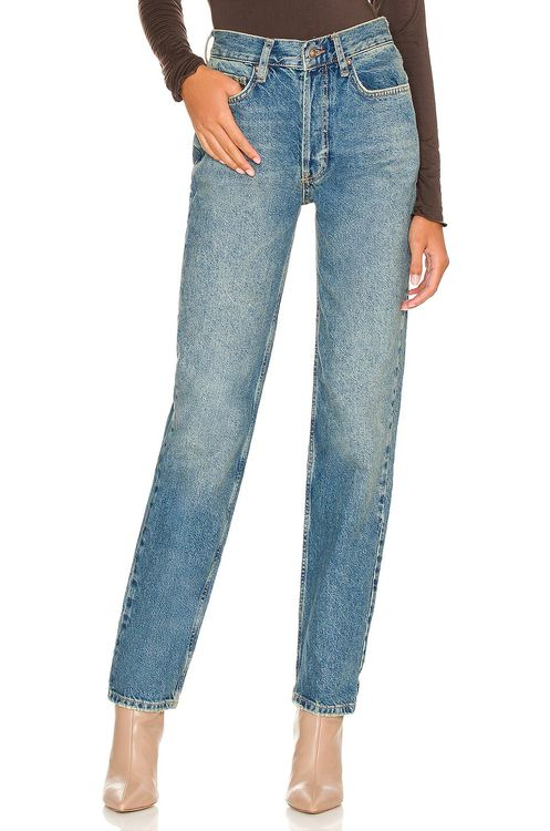 Free People The Lasso Straight Jean