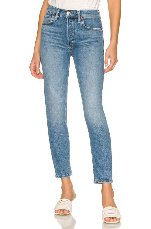 RE/DONE Originals 90s High Rise Ankle Crop