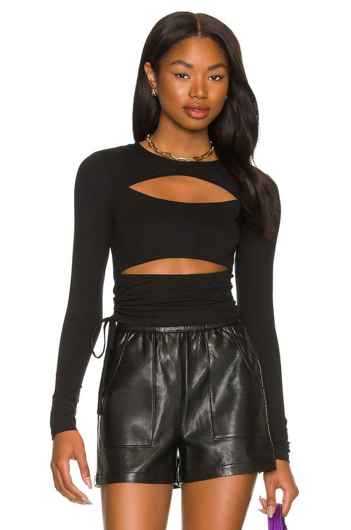 super down Kathleen Cut Out Top
