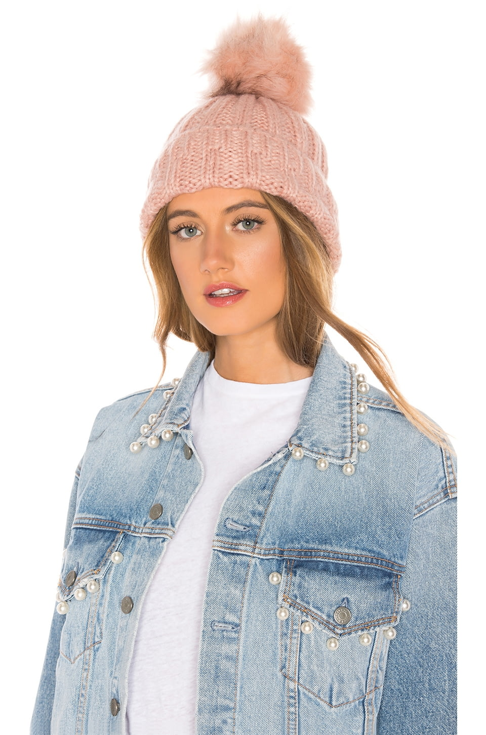 49246bf84 Slouchy Rib Beanie, Hat Attack