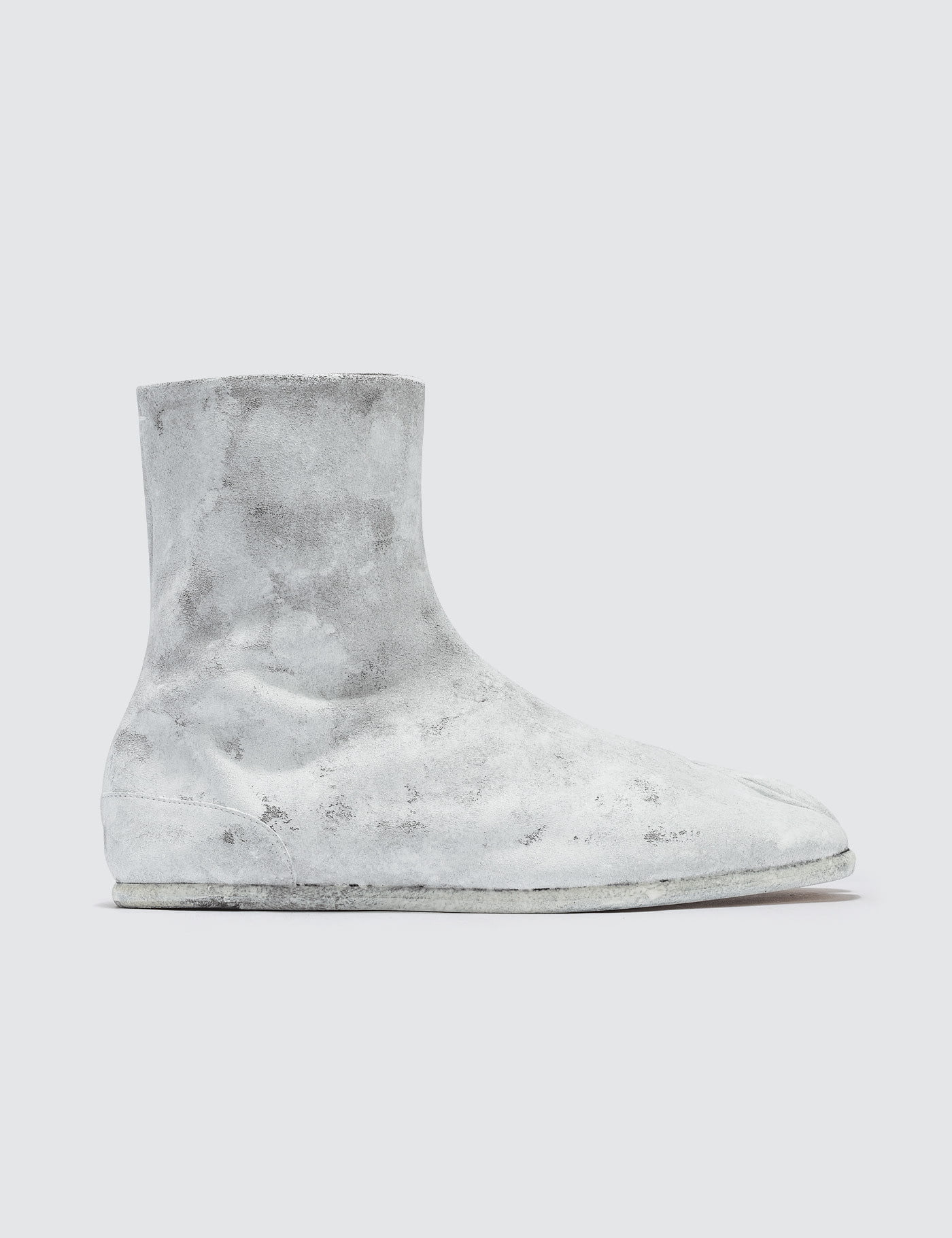 fd756b48f Buy Original Maison Margiela Tabi Ankle Flat Boots - White Icons at ...