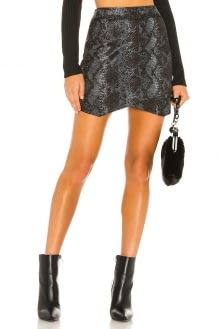 BB Dakota Jack By BB Dakota Python The Run Wrap Skirt