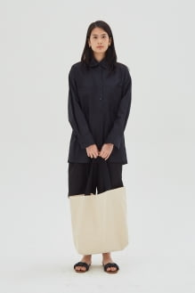 Shopatvelvet Aga Cotton Shirt Black