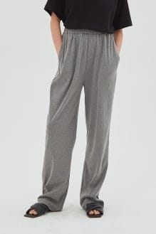 Shopatvelvet Casa Ribbed Pants Gray