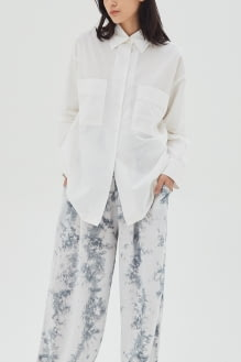Shopatvelvet Aga Cotton Shirt White